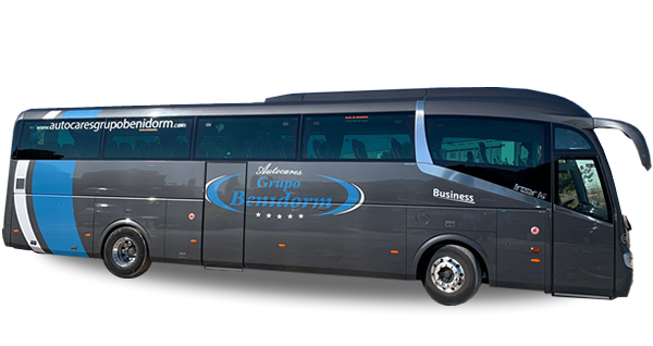 Rental of Coaches, Bus in Benidorm, Alicante