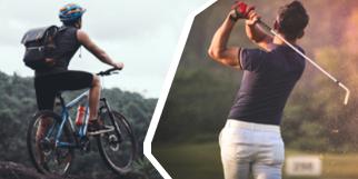 Transportes Eventos deportivos, grupos ciclistas y golf